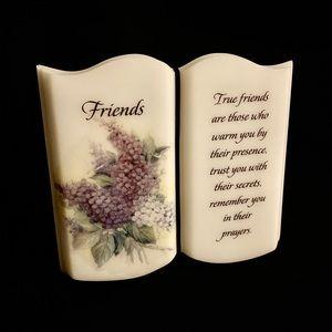 True Friends Book/Stone Sign